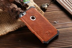 iron frame hard wood mobile phone case for iphone 6