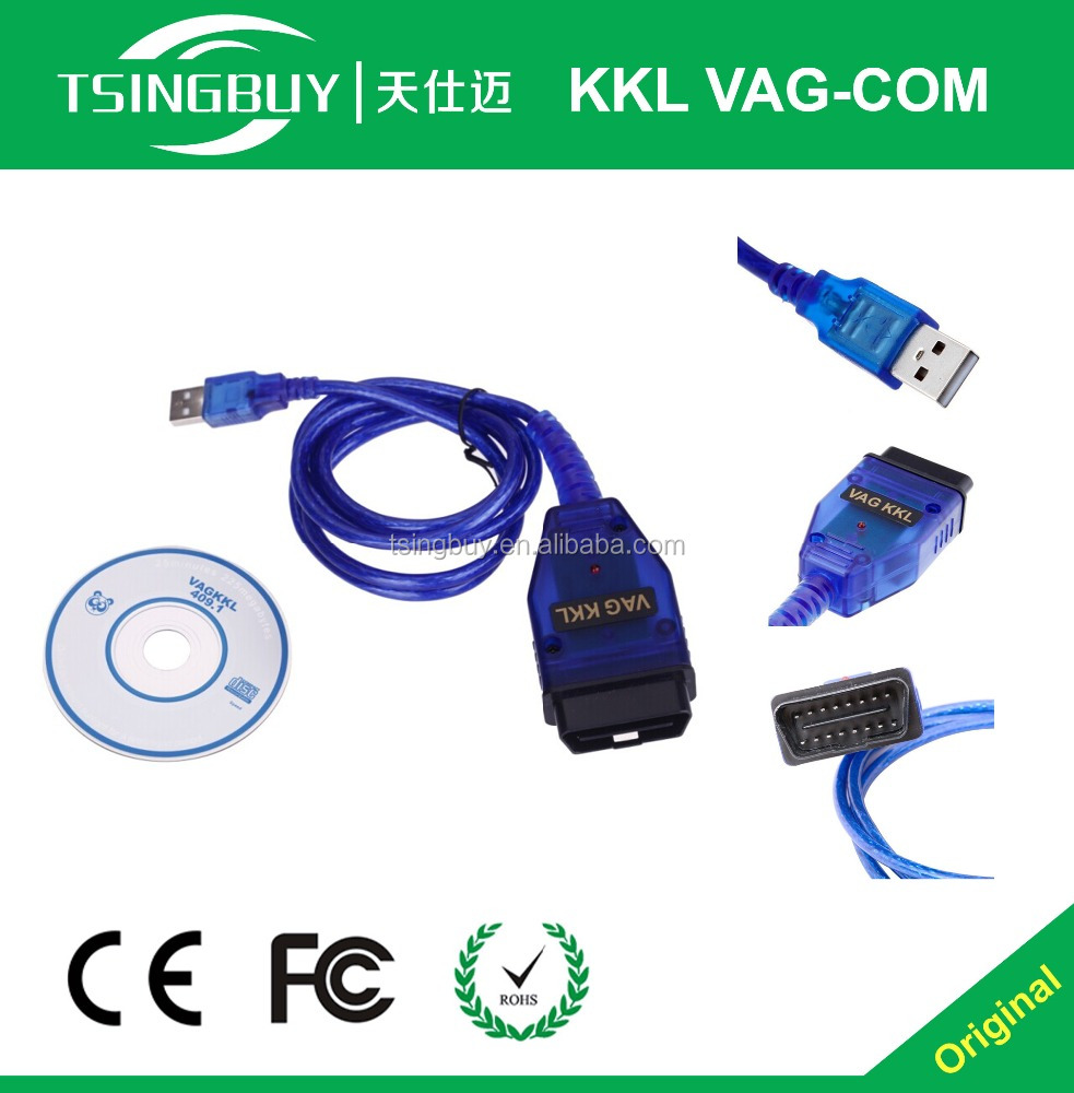 USB cable kkl vag diagnostic kkl vag com for 409.1 vag-com kkl 409.1