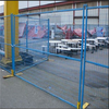 High visible powder coated temporary fence panel