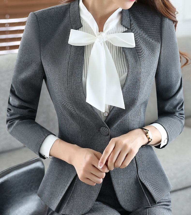 Juqian New Style Custom Female Business Suit Factory Business Suits For Young Women