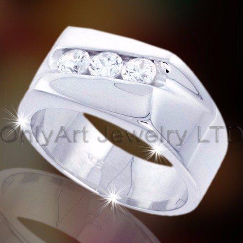 wide 925 sterling silver ring band