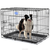 Songmics Metal Commercial dog kennels dog flexible cage