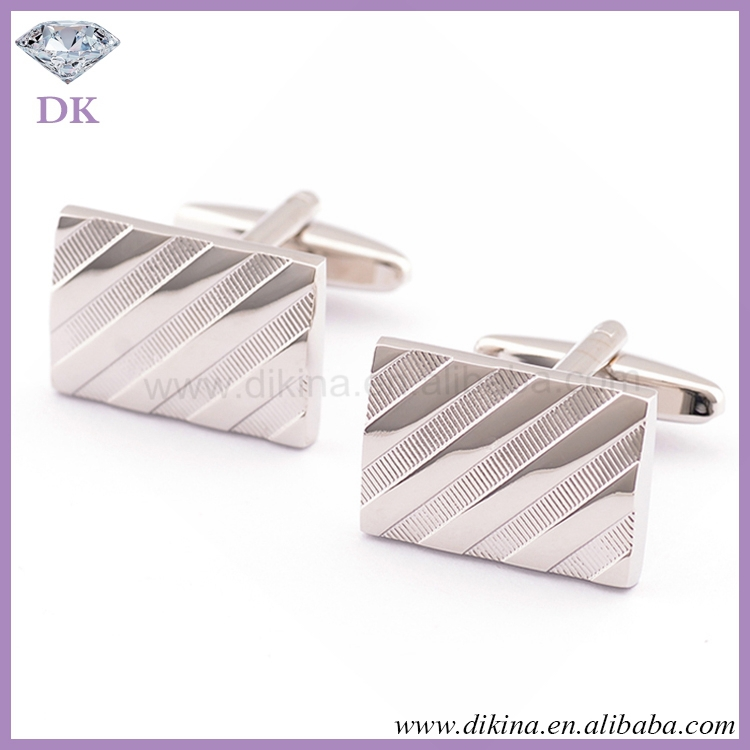 Factory Wedding Cufflinks, Silver Cufflinks, silver square fashion crystal diamond wholesale wedding sterling Silver Cufflinks