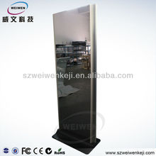 HOT! 42'' Floor Stand LCD Advertising Player with Mirror surface