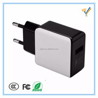 Shenzhen Professional qc 2.0 portable mobile charger 2.4a usb wall charger for mobile phone accessory
