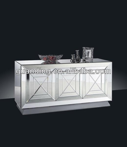 Modern Design Mirror King Size Beds With bedroom set