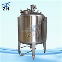 post mix beverage machine silicone emulsion mixing tank/stainless steel reaction vessel/chemical mixing tank