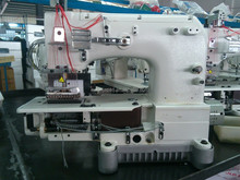 Cylinder bed double chain stitch industrial sewing machine VC008