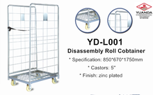 Wire warehouse supermarket roll container / storage cage