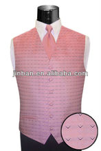 baby pink mens wedding dress v neck waistcoat