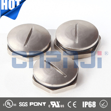 Circle brass screw cap metal caps for furniture legs metal screw caps