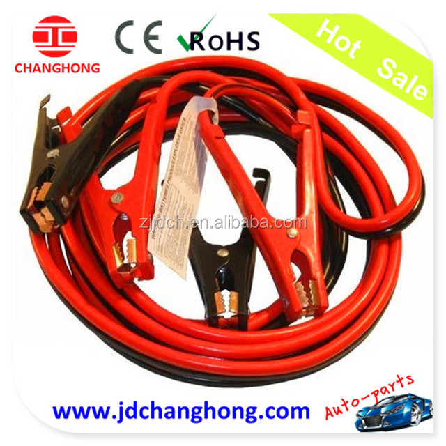 16 FT 4 Gauge Heavy Duty Booster Cable Jumping Cables Power Jumper
