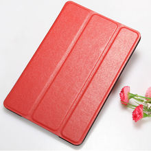 Red For iPad mini Prada Lines Leather Case