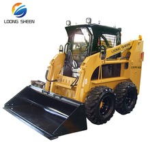 China New 40 hp Lawn Tractor Mini Front End Loader For Sale