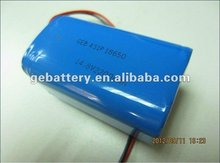 GEB hot selling 18650 14.8V 2200mAh lithium ion battery pack li-ion battery pack