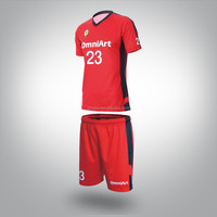 cheap custom football jersey & football uniforms red footabll jersey