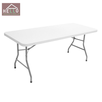 6 feet folding table cheap outdoor plastic tables