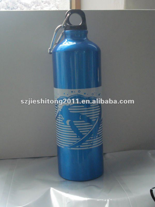 2013 750ml adorable design Stainless steel sport water bottle BPA free FDA approved