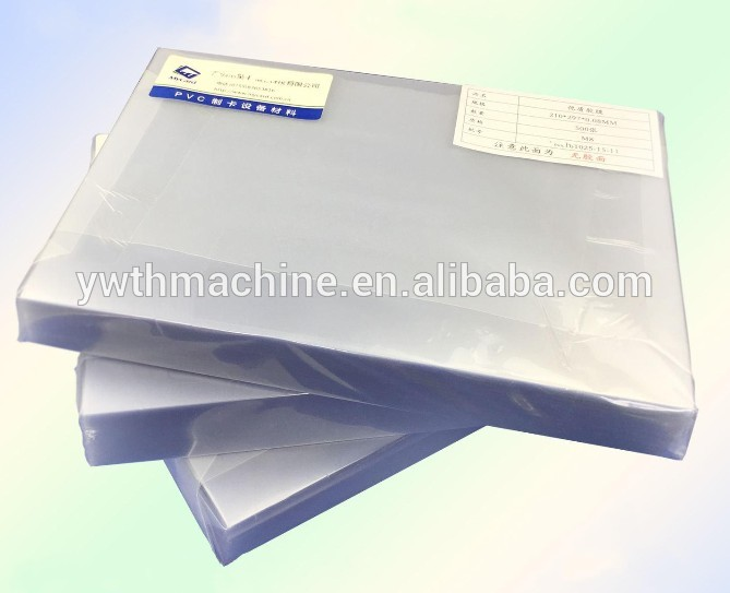 PVC ID Card Laminating Film A4 Glue Film for PVC Card Laminating