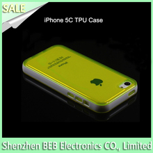 Wholesale tpu mobile phone case for iphone5c