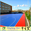Competitive price long service life PP Outdoor Plastic Basketball Flooring