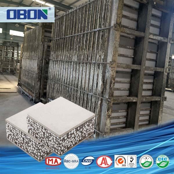 Cellular Lightweight Concrete Machines : Obon cellular lightweight concrete block machine prices