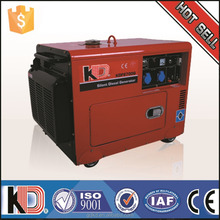 Power 3 to 10kva can run complete home Low noise Low price Small portable silent diesel generator