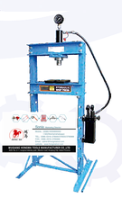 mitchell on demand auto repair 20 ton hydraulic shop press with double speed pump