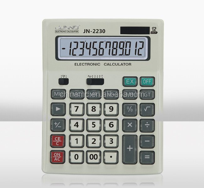 talking function calculators 12 digit office Calculators electric and solar power