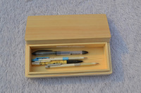 pine wood wooden pencil boxes