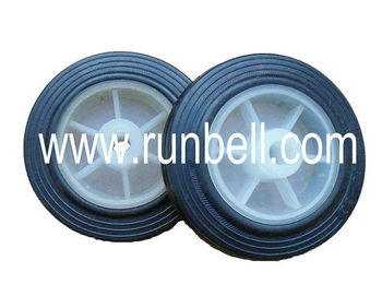 "4"" small solid rubber wheel for cart and toys"