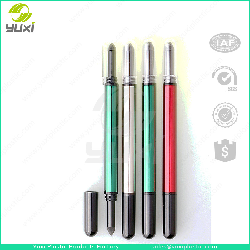 Changshu wholesale plastic empty click pen package for liquid eyeliner cosmetic pen package