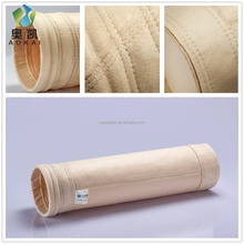 China manufacturer pps dust collecting filter bags for power plant boiler