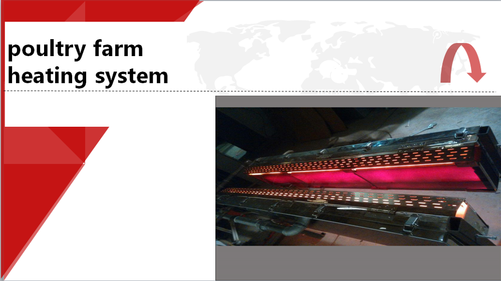 Industrrial price poultry farm heating equipment system, infrared farm heater