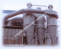 spiral-flow type water film desulfuration wet gas scrubber