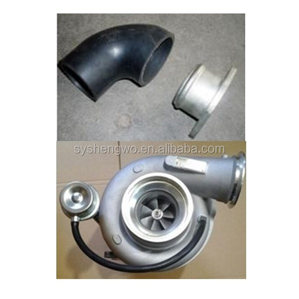 Dongfeng diesel engine spares ,turbocharger intake pipe 3933549