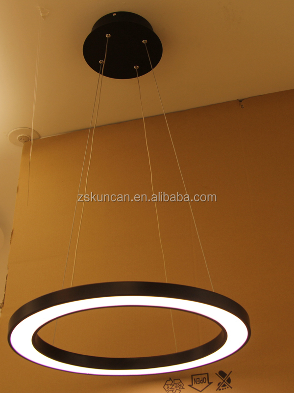Commercial circle LED chandeliers&pendant lights