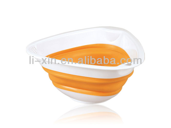 Triangle shaped retractable screen/folding screen/basket/rice washing sieve
