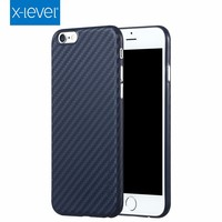 X-LEVEL Ultra Thin Lightweight PP Carbon Fiber Phone Case for iPhone 6 6S