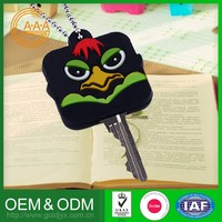 Top Selling Wholesale Price Oem Odm Silicon Rubber Key Case Eco-Friendly Custom Design Smart Car Key Cover
