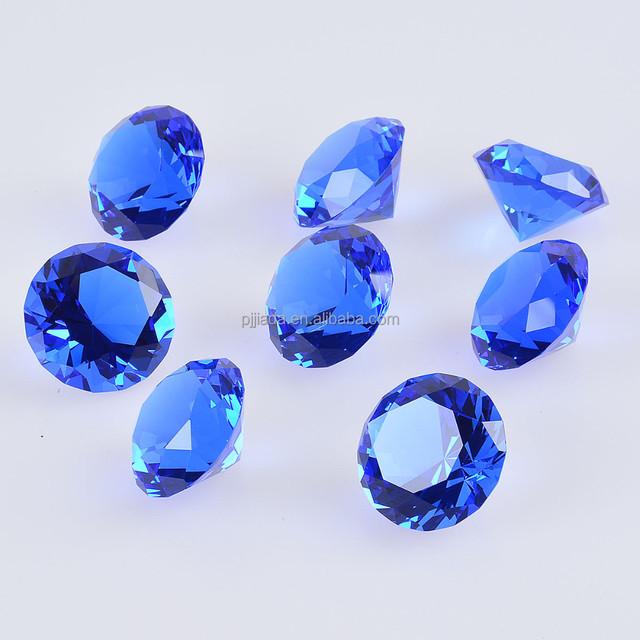 Hot sale cheap bulk glass crystal diamond for wedding return gifts