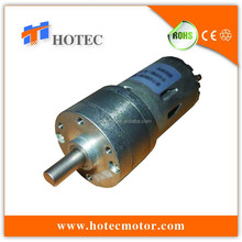 pmdc 6 volt low rpm gear motor with spur gearbox and 5mm shaft
