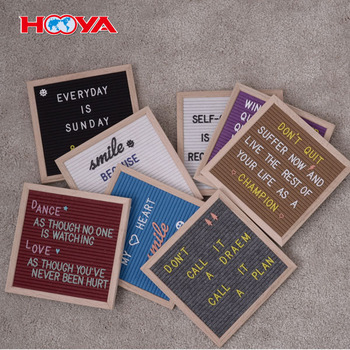 10 x 10 Premium Solid Oak Framed Changeable Letter Board With Free Canvas Bag 290 Characters stand