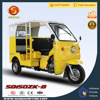 NEW CHONGQING CHINA 150CC 175CC 200CC 250CC Motorized Passenger Tricycle for Sale SD150ZK-B