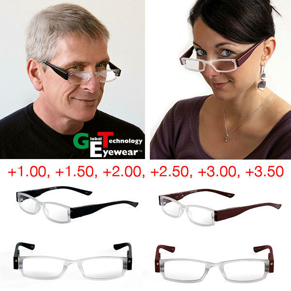 LED glasses which are both functional and fashionable