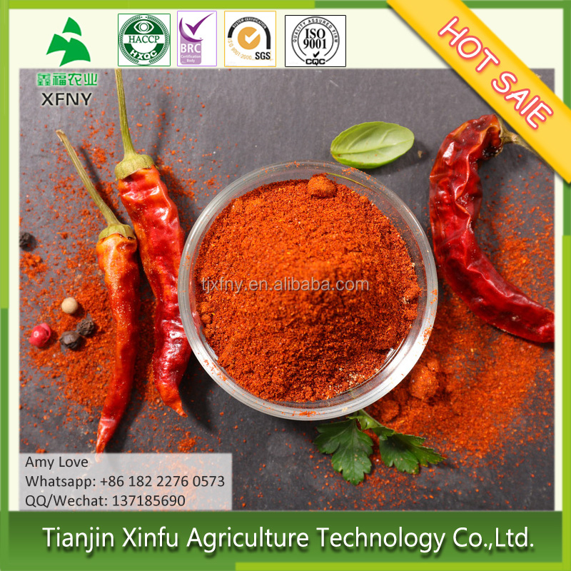 China gold supplier grade A AD dried red chili powder price 1 kg
