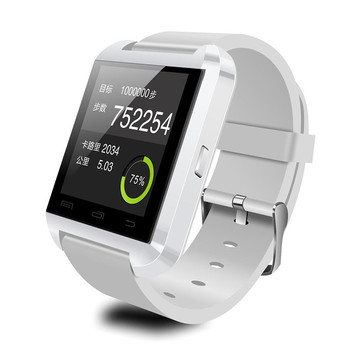 2017 the most popular large touch screen u8 smart watch for apple iphone and android samsung