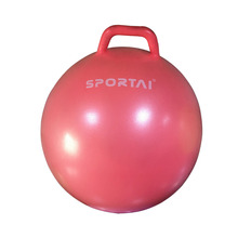 high quality PVC custom design Jumping Ball with Square Handle for kids