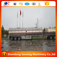 3 axle 48 liters ADR fuel tanker trailer