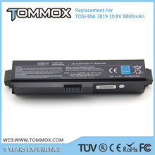 Tommox Hot 11.1V 8800mAh Replacement notebook Battery PA3819U-1BRS for Toshiba C675, C675D, L630, L635, L640